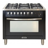 Lofra CURVA fornuis CUR 190.60 6 pits incl. WOK gas-electro-90cm breed 1 oven