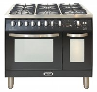 Lofra CURVA fornuis CUR 192.60 6 pits incl. WOK gas-electro-90cm breed 2 ovens
